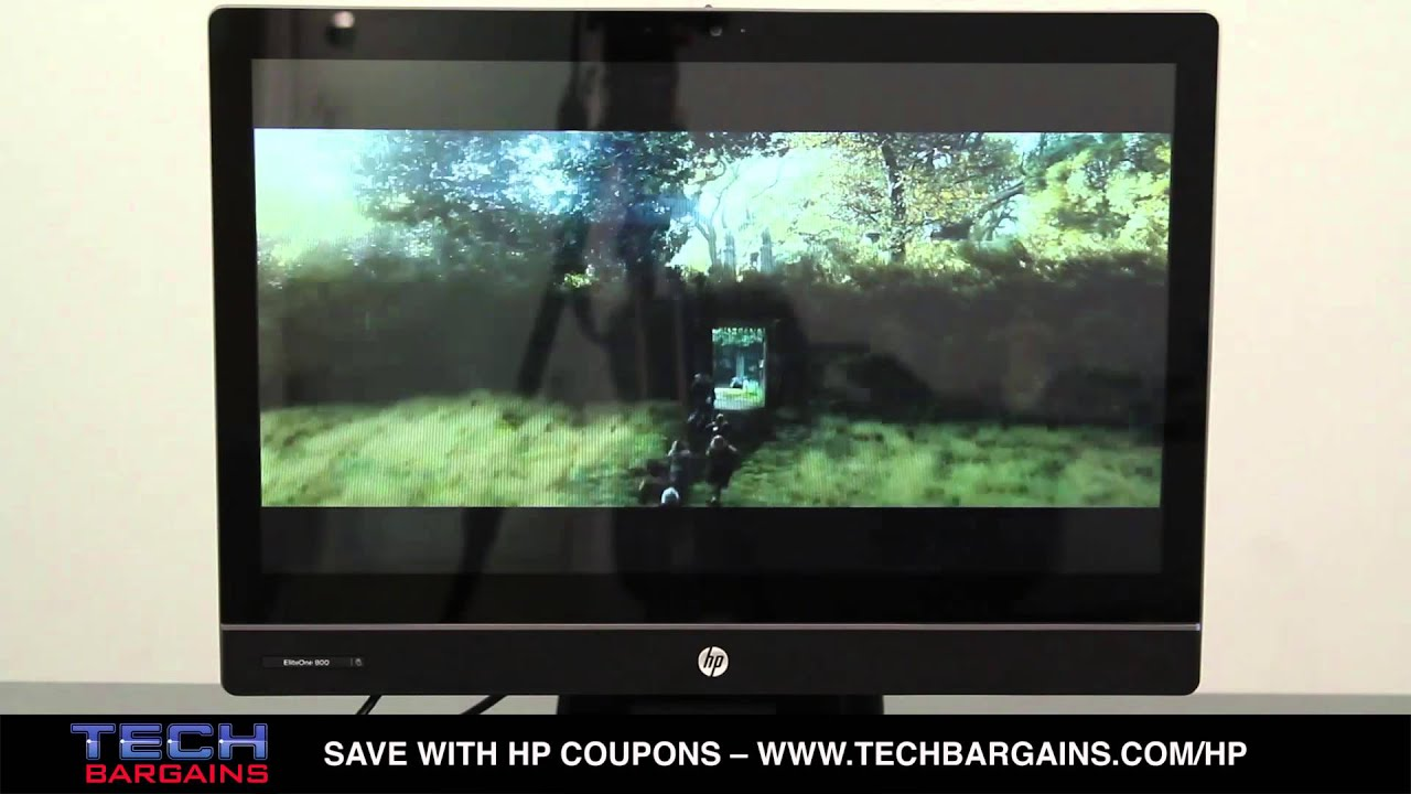 hp eliteone 800 g1 all in one desktop video review  hd