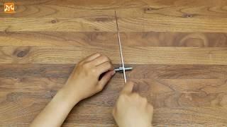 Mẹo vặt hay - 3 cách mài dao đơn giản nhanh chóng