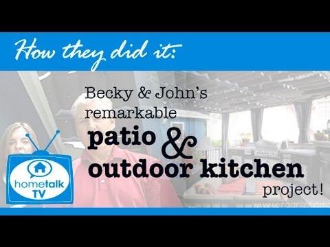 Becky & John's DIY Deck!