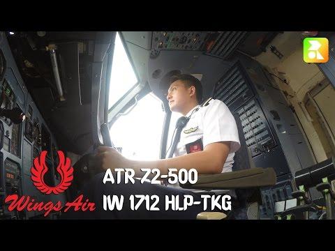 GIPILVLOG #4 ATR 72-500 Halim PK Jakarta (HLP)- Radin Inten II, Lampung (TKG)
