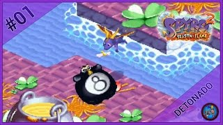 Spyro 2: Season of Flame #01 | Sunny Plains e Shamrock Isle