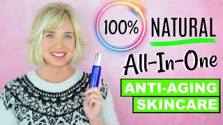 NATURAL NORDIC ALL-IN-ONE SKINCARE! Simple ANTI-AGING Skincare!