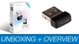 tP-Link TL-WN725N 150Mbps Wireless-N Nano USB Adapter Unboxing & Overview