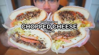 How to make CHOPPED CHEESE