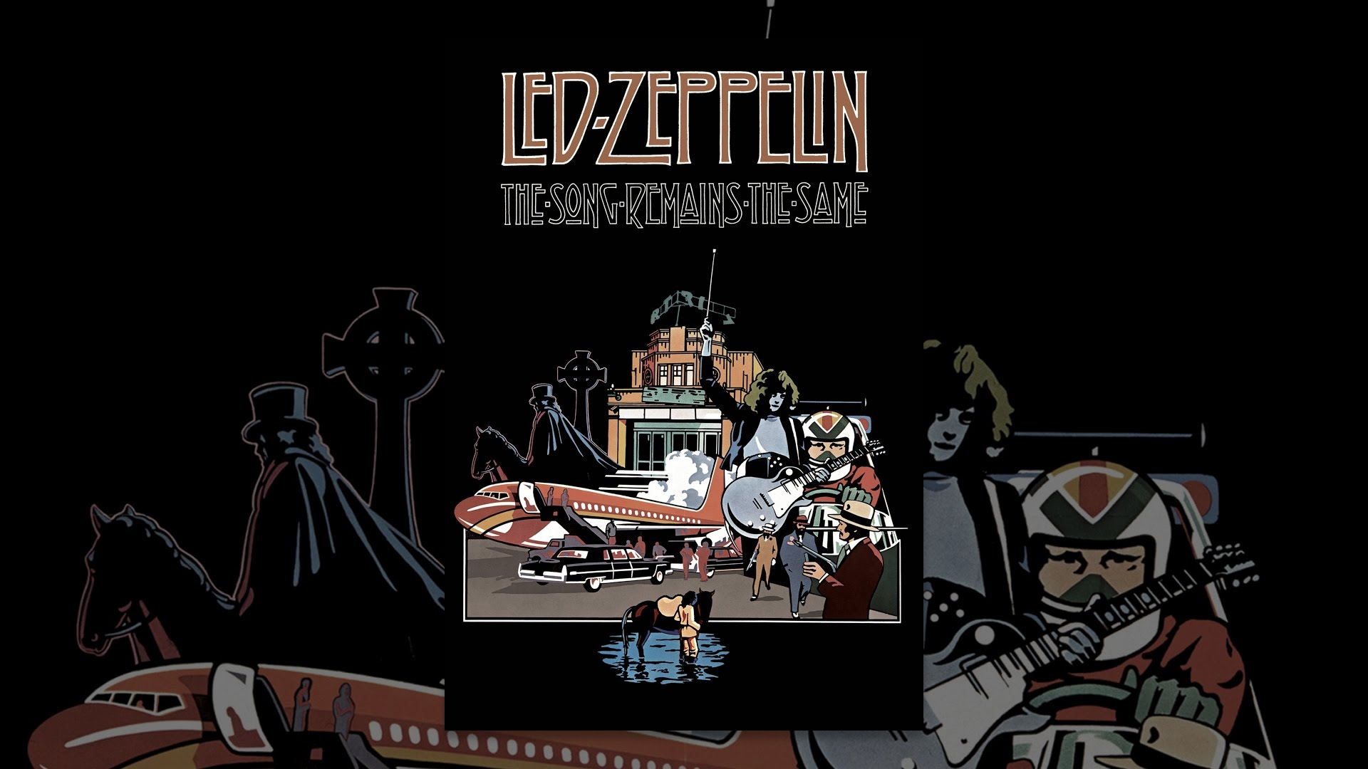 play led zeppelin the song remains the same
