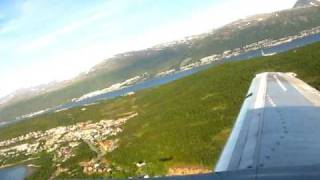 Norwegian is taking off from subarctic Tromsø heading to Oslo