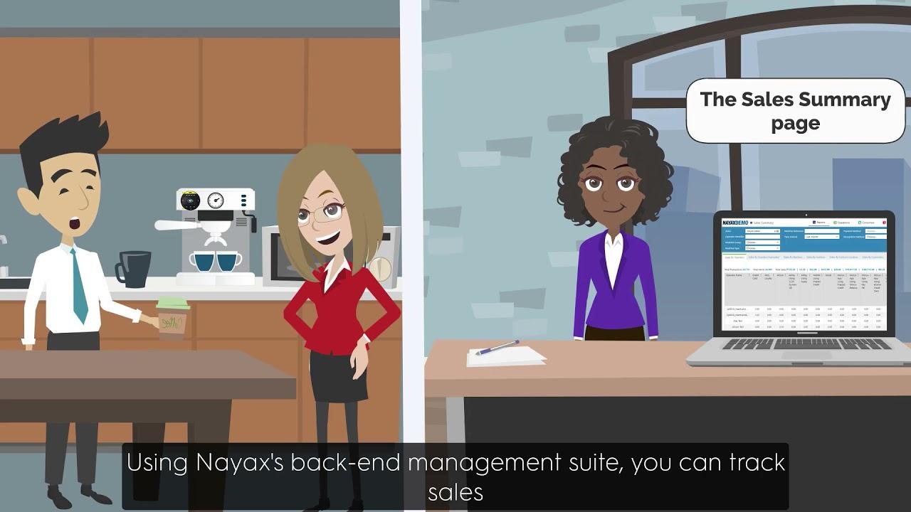 Nayax Cashless Payment Solution for OCS