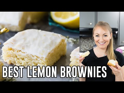How to Make Lemon Brownies
