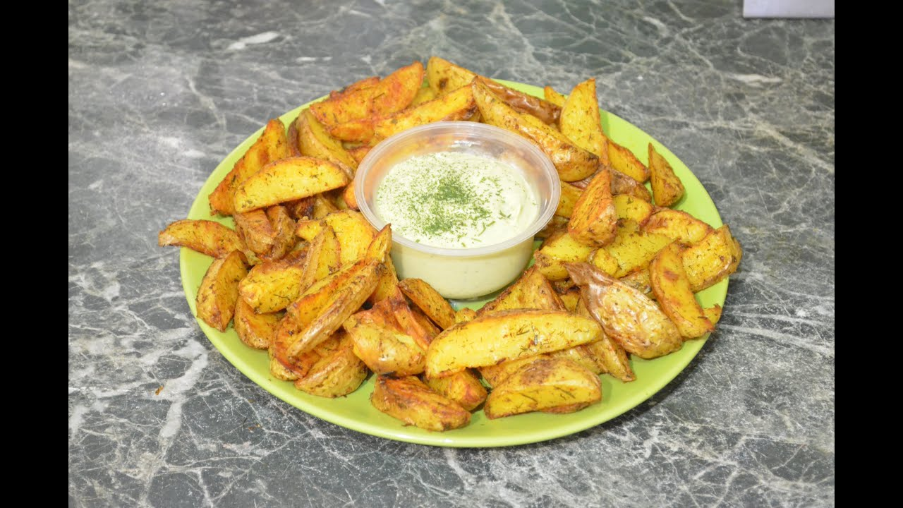 картошка по деревенски как в макдональдсе рецепт на сковороде