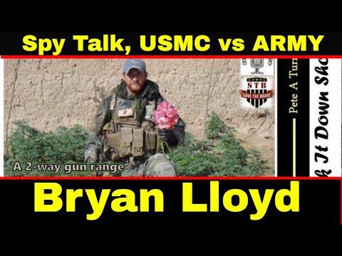 Bryan Lloyd - USMC Counterintelligence, HUMINT Collector, Badass