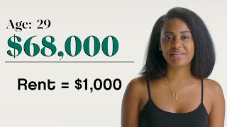 Women With Different Salaries On What Their Rent Costs | Glamour