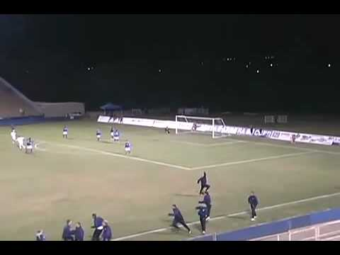UC Davis vs. UCSB Men's Soccer Bicycle Kick Goal - Quincy Amarikwa #22 for UCD