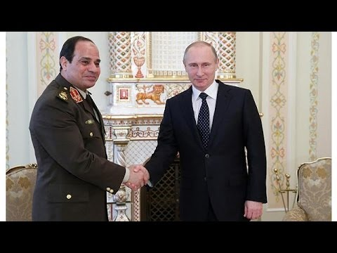 Russia's Putin gives supports to Sisi's bid for Egypt presidency