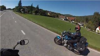 Путешествие на мотоцикле 6 (Хорватия, Словения, Австрия)(Это шестой день нашего с братом недельного путешествия на мотоциклах. В этот день наша дорога проходит..., 2014-03-17T13:12:12.000Z)