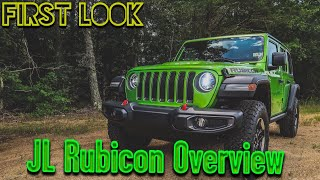 2018 JL Wrangler Rubicon Overview and Review!
