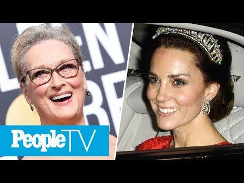 Mariah Carey 'Stole' Meryl Streep's Golden Globes Seat, Princess Kate's Top Tiara Moments | PeopleTV