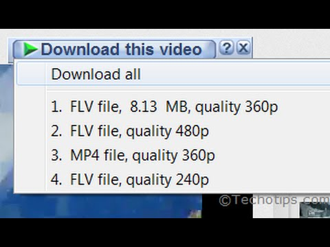 Download Youtube Videos From IDM- Internet Download Manager 2014
