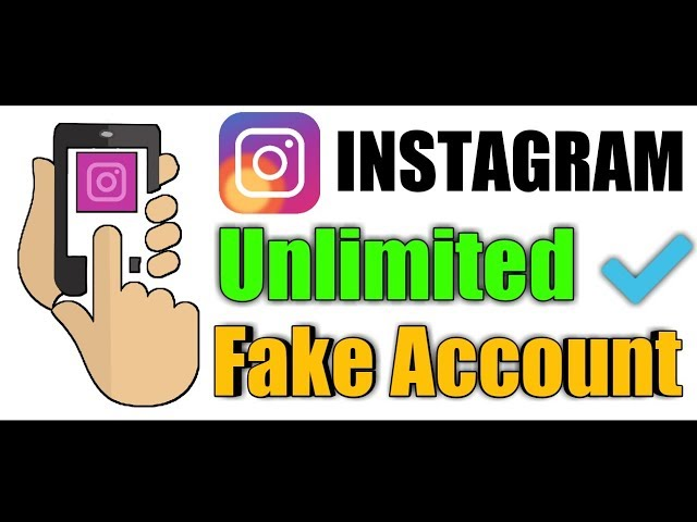 Instagram Par Unlimited Fake Account Kaise Banaye || Instagram Par Unlimited Fake iD Kaise Banaye ?