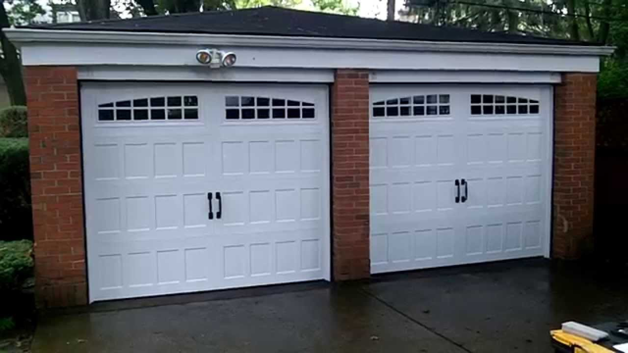 Amarr Oak Summit Garage Doors In Chicago,il