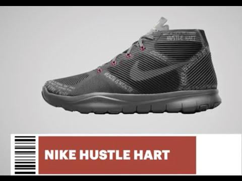 e6307333d2b3 Nike Kevin hart hustle shoe unboxing - YouTube