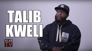 Talib Kweli: It's Harder for White Rappers at the Start, But They Blow Up Bigger (Part 5)