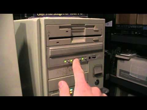 NEC MultiSpin 4-disc CD-ROM changer drive