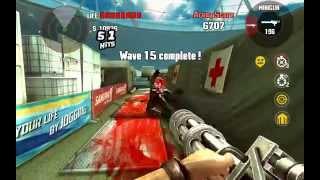 Dead Trigger 1 Stadium Wave 22 Minigun Only Nvidia Shield Tablet