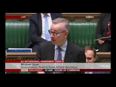 "Michael Gove: did he really say ""Bollocks"" in parliament!  :-D"