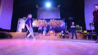 Ćwierćfinał Bgirl Battle 1vs1 / Darion vs Natia