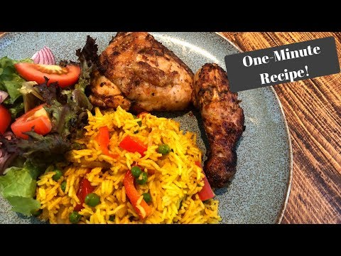 SLIMMING WORLD SYN FREE NANDOS I One-Minute Recipe!