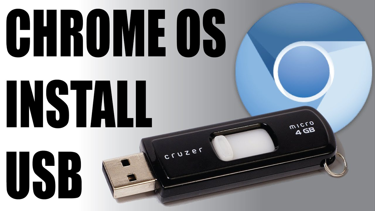 How To Install Chrome OS on a USB