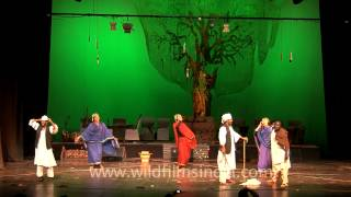 Folklore of Sudan in a human story