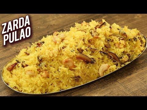 zarda-pulao---eid-special-recipe---sweet-rice---meethe-chawal-recipe---homemade-zarda---varun