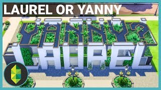 LAUREL or YANNY? - The Sims 4 House Build