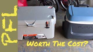 Worth The Cost? Ozark Trail  73qt High Performance Cooler vs Igloo Maxcold Island Breeze 62 qt