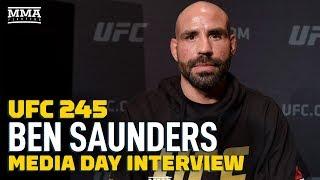 UFC 245: Ben Saunders Shrugs Off