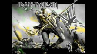 Iron Maiden - The Trooper - guitar backing track (with vocals and secondary guitar)