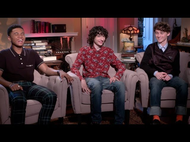 IT CHAPTER TWO interviews - Wolfhard, Hader, Chastain, Grazer, Muschietti, Lillis, Jacobs, Martell