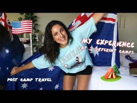 THE TRUTH ABOUT WORKING AT SUMMER CAMP & POST CAMP TRAVEL W/ PHOTOS | USA