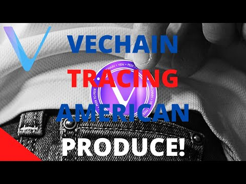 VECHAIN IS BEING ADOPTED RIGHT BEFORE OUR EYES! VECHAIN TRACING GOODS IN THE US!