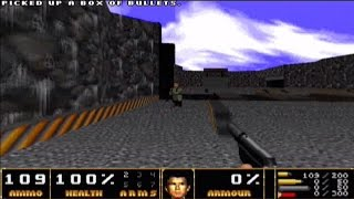 Doom II WAD (007 Goldeneye [PC]) gameplay