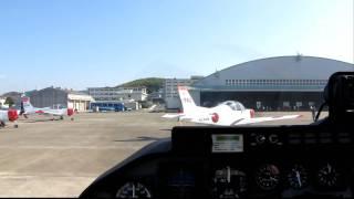 2010 海上自衛隊 小月基地 T-5 体験搭乗 4/4 ~ランプイン~