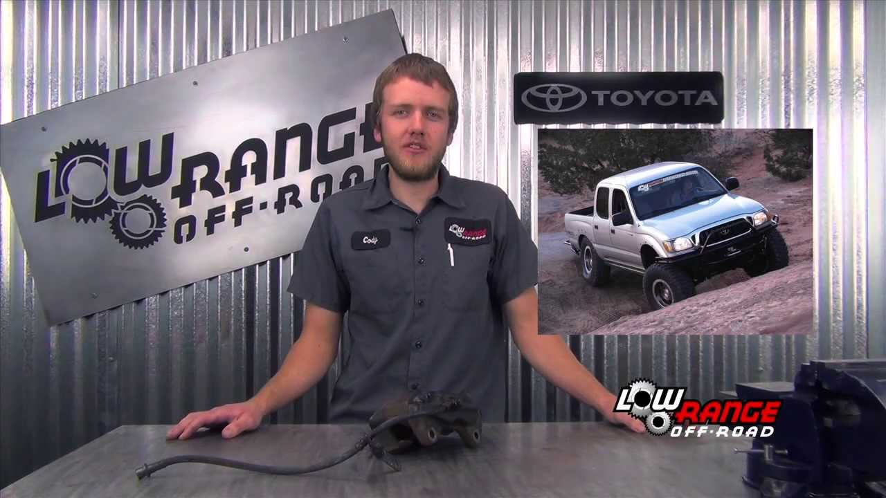 2002 Toyota Tacoma Brake System Bleeding Youtube 98 Camry Engine Diagram