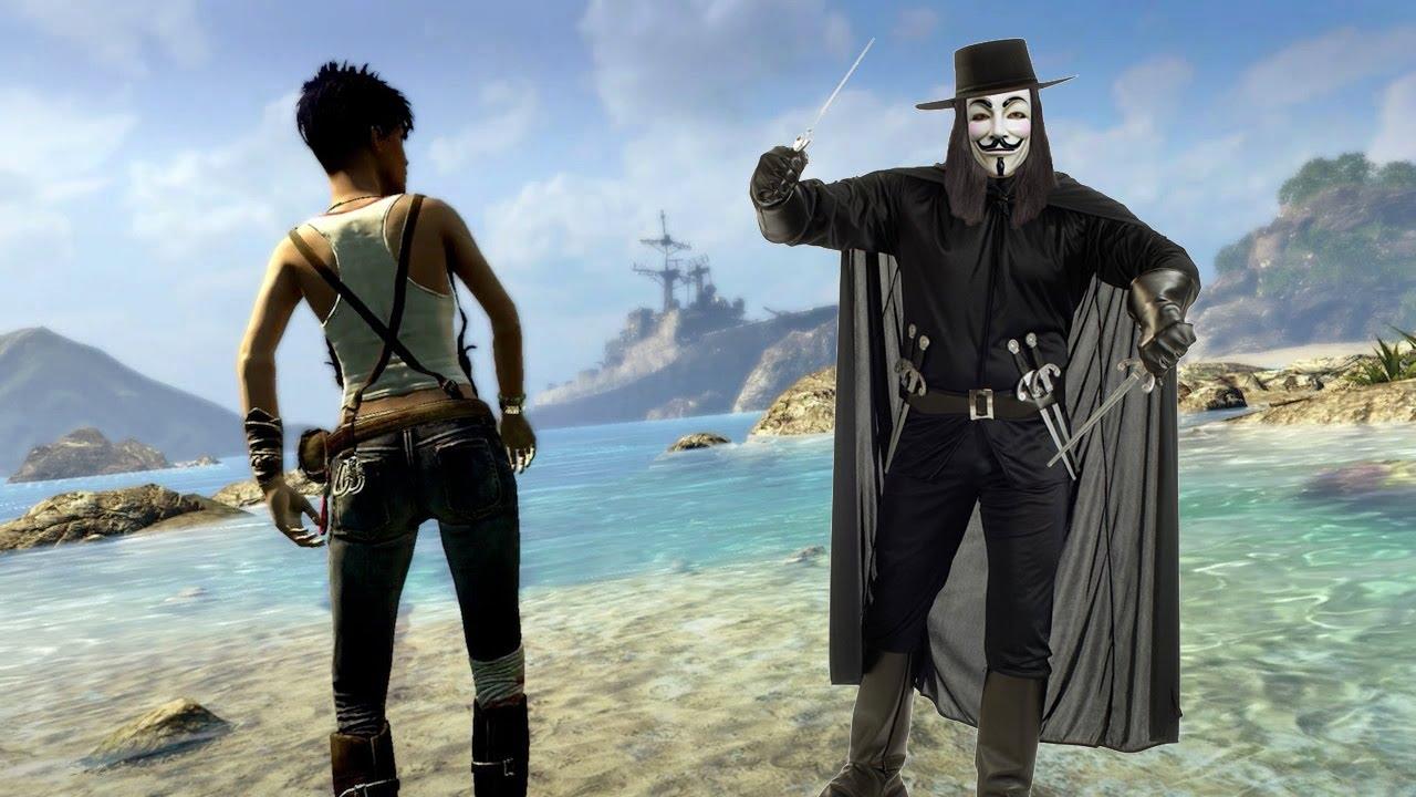 Jogando Dead Island Riptide