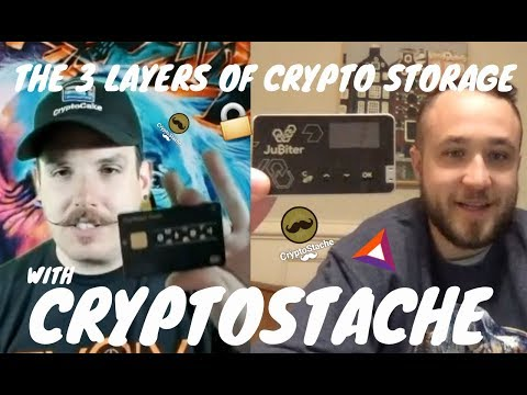 THE 3 LAYERS OF CRYPTO STORAGE FOR BEGINNERS WITH CRYPTOSTACHE
