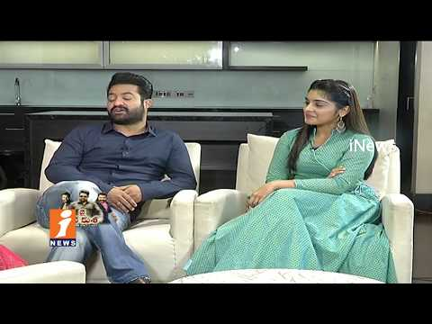 Special Chit Chat With Jr NTR And Niveda Thomas | Jai Lava Kusa Movie | iNews