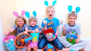 EASTER BUNNY PRANKED US AND HID OUR BASKETS!