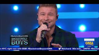 Backstreet Boys Live Good Morning America 2019 ('No Place' First Debut)