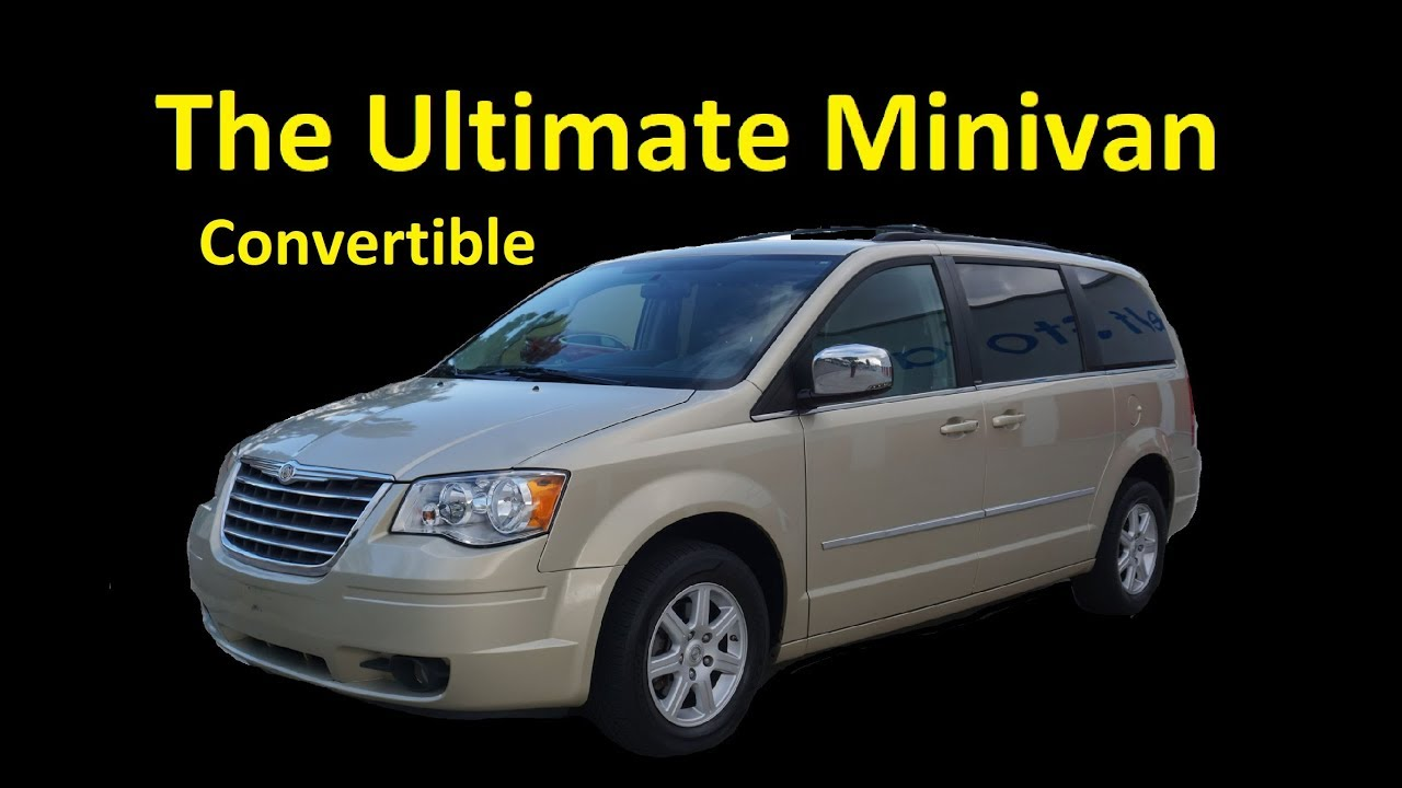 2010 CHRYSLER TOWN COUNTRY CONVERTIBLE MINIVAN VIDEO REVIEW