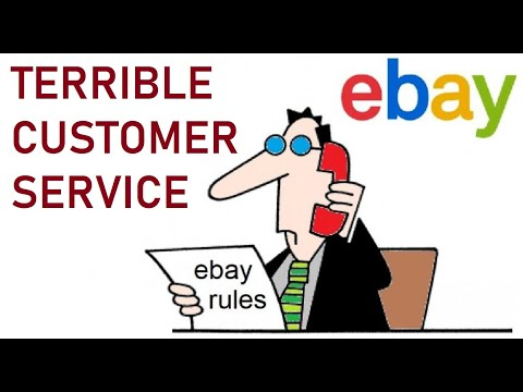 TERRIBLE Customer Service From EBay